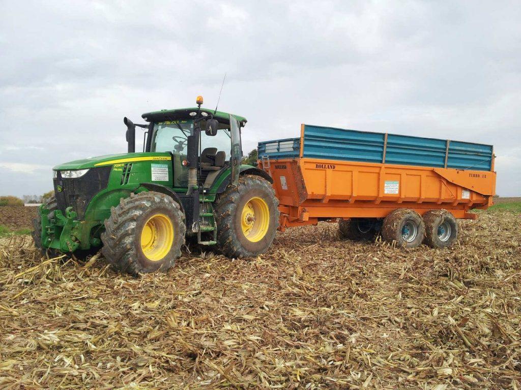 transport céréales marne